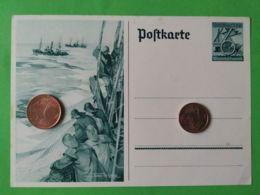 GERMANIA  ALLEMAGNE  GERMANY  Cartolina Postale Pescatori - Guerra 1939-45