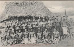 German New Guinea Zum Lanz Geschmuskte Eingeborene Von Matupi   Opi14 - Papouasie-Nouvelle-Guinée