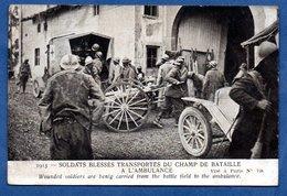 Soldats Blessés - Guerra 1914-18