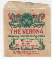 The Verona Violin E Strings Package B190101 - Advertising
