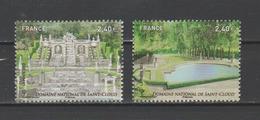 FRANCE / 2012 / Y&T N° 4663/4664 ** : Les 2 TP Du F4663 Jardins De France (Saint-Cloud) - Gomme D'origine Intacte - Frankreich