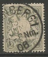 Bavaria - 1888 -1900 Arms 2pf Grey Used    SG 102 - Bavaria