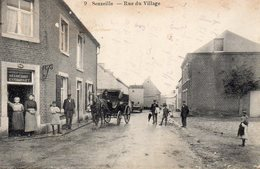 Senzeille. Rue Du Village.(Calèche,estaminet,animation !!!) - Belgium