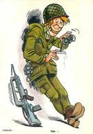 Illustrateur Mazel - Humour Militaire    B 21 - Humor