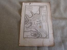 Carte Plan De La Bataille De Marathon Pour Le Voyage Du Jeune Anacharsis Dressée Par M.Barbié Du Bocage 1798 - Cartes Géographiques