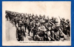American Red Cross Card  - Soldats Americains - War 1914-18