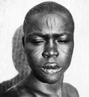 Afrique De L Ouest Scarification Visage Homme Ethnique Très Belle Photo 10x15 - Africa