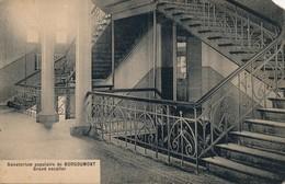 BORGOUMONT ADF SANATORIUM POPULAIRE GRAND ESCALIER - Stoumont