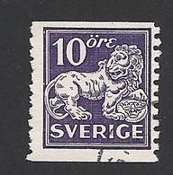 Schweden, 1934, Michel-Nr. 177 II, A, Gestempelt - Svezia