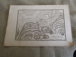 Carte Essai Sur La Bataille De Platée Pour Le Voyage Du Jeune Anacharsis Par J.D.Barbié Du Bocage 1784 - Cartes Géographiques