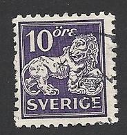 Schweden, 1934, Michel-Nr. 177 II, B, Gestempelt - Svezia