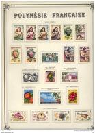 C 656++  -  Polynésie  -  Collection  :  Yv  1-61+ Av  1-21 + Tax 1-3  * - Polynésie Française