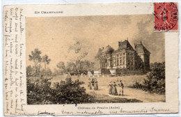 En Champagne - Chateau De PRASLIN (Gravure)   (110935) - France