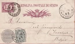 ITALIE 1946  INTERI POSTALE /GANZSACHE/POSTAL STATIONERY CARTE DE MILAN - Entero Postal