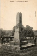 24. CPA. AGONAC. Monument Aux Morts.  1924. - France