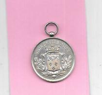 Médaille Argent VILLE De VERSAILLES : Concours Internationale Musique 19 JUIN 1881 - Other