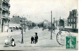 N°68792 -cpa Le Havre -perspectives Du Boulevard De Strasbourg- - Other