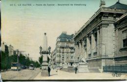 N°68798 -cpa Le Havre - Boulevard De Strasbourg -palais De Justicue- - Autres