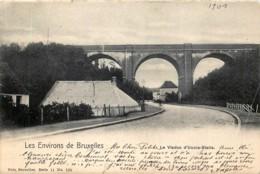 Nels Série 11 N° 120 - Les Environs De Bruxelles - Le Viaduc D' Uccle-Stalle - Bruxelles-ville