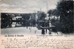 Nels Série 11 N° 122 - Les Environs De Bruxelles - Les Pêcheries Saint-Pierre à Uccle-Stalle - Bruxelles-ville