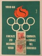 FIRENZE GIORNATA NAZIONALE DEL FRANCOBOLLO 1959/60 FG - Firenze