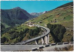 Bosses St. Rhemy - Panorama E Viadotto Del Traforo Del Gran S. Bernardo / Viaduc Et Tunnel Du Gran St. Bernardo - (CH.) - Toerisme