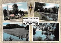 BONNY-sur-LOIRE - Le Camping - Plage - France
