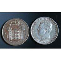 Pièce Monaco, 5 Francs, 1960 - Monaco