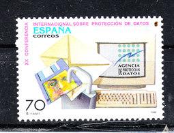 Spagna - 1998. Computer E Protezione Dati Pesonali. Computer And Personal Data Protection. MNH - Computers