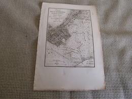 Carte Plan De L`Académie Et De Ses Environs Pour Le Voyage Du Jeune Anacharsis Par J.D.Barbié Du Bocage 1784 - Mapas Geográficas