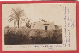 CPA: Nigeria - Carte-photo - Mosquée D'Ibi (Photographe J.Cezard) Carte Manuscrite - Nigeria