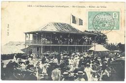 Cpa La Guadeloupe Historique - St-Claude - Hôtel De Ville - Guadeloupe