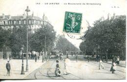 N°68804 -cpa Le Havre -boulevard De Strasbourg- - Le Havre