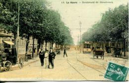 N°68807 -cpa Le Havre -boulevard De Strasbourg- - Le Havre