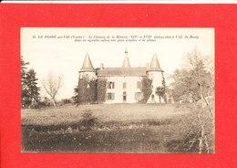 85 LE POIRE Sur VIE Cpa Le Chateau De La Métairie     14 Edit Moreau - Poiré-sur-Vie