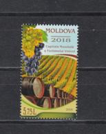 Moldova Moldawien MNH** 2018 Moldova - World Capital Of Wine Tourism Mi 1061 - Moldawien (Moldau)