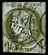 France No.39 - 1C - Report II - COTE 100,00 ++ EUROS, O  !! - 1870 Uitgave Van Bordeaux
