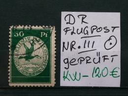 Deutsche Reich Flugpostmarken Geprüft - Airmail