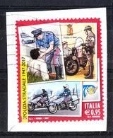 Italia   -   2017. Polizia Stradale. Road Police. Self Adhesive - Polizia – Gendarmeria