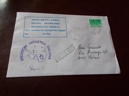 B708   Busta Timbro Spedizione Antartica Italiana - 6. 1946-.. Repubblica