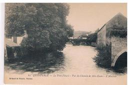 CPA QUIMPERLE Pont Fleuri Abattoir - Quimperlé