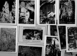 Pochette 12 Minis Photos. SLOVENIJA. SLOVENIE.  Postojnska JAMA. - Slovénie