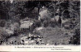 Belgique. St Maria Hoorebeke; Zicht Op Het Hof Van Den Burgemeester - Horebeke
