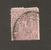 España 1875 Impuesto De Guerra Yvert 4 Used - Impuestos De Guerra
