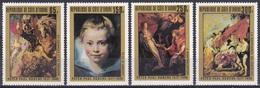 Elfenbeinküste Ivory Coast Cote D'Ivoire 1978 Kunst Arts Kultur Culture Gemälde Paintings Rubens, Mi. 537-0 ** - Côte D'Ivoire (1960-...)