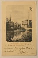GRUSS AUS EBERSWALDE 1902  VIAGGIATA FP - Eberswalde