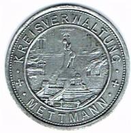 Allemagne - Nécessité - METTMANN 50 Pf 1917 (zinc) - Monétaires/De Nécessité