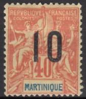 N° 80 - X - - Martinica (1886-1947)