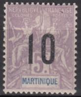 N° 81 - X - - Martinica (1886-1947)