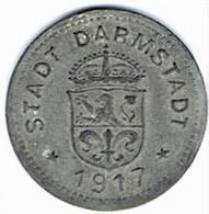 Allemagne - Nécessité - DARMSTADT 10 Pf 1917 (zinc) - Monétaires/De Nécessité